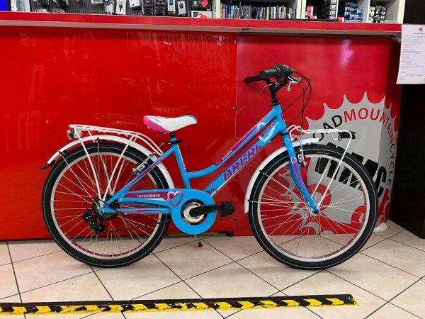 "Brera 24"" bimba. Bici Verona. Bicicletta da bambina a Verona. RMC negozio a Villafranca"