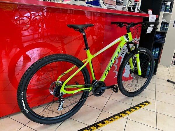 """MBM Quark 29"""" gialla MTB Bici Mountain Bike Verona. RMC negozio e riparazioni di biciclette a Verona"""