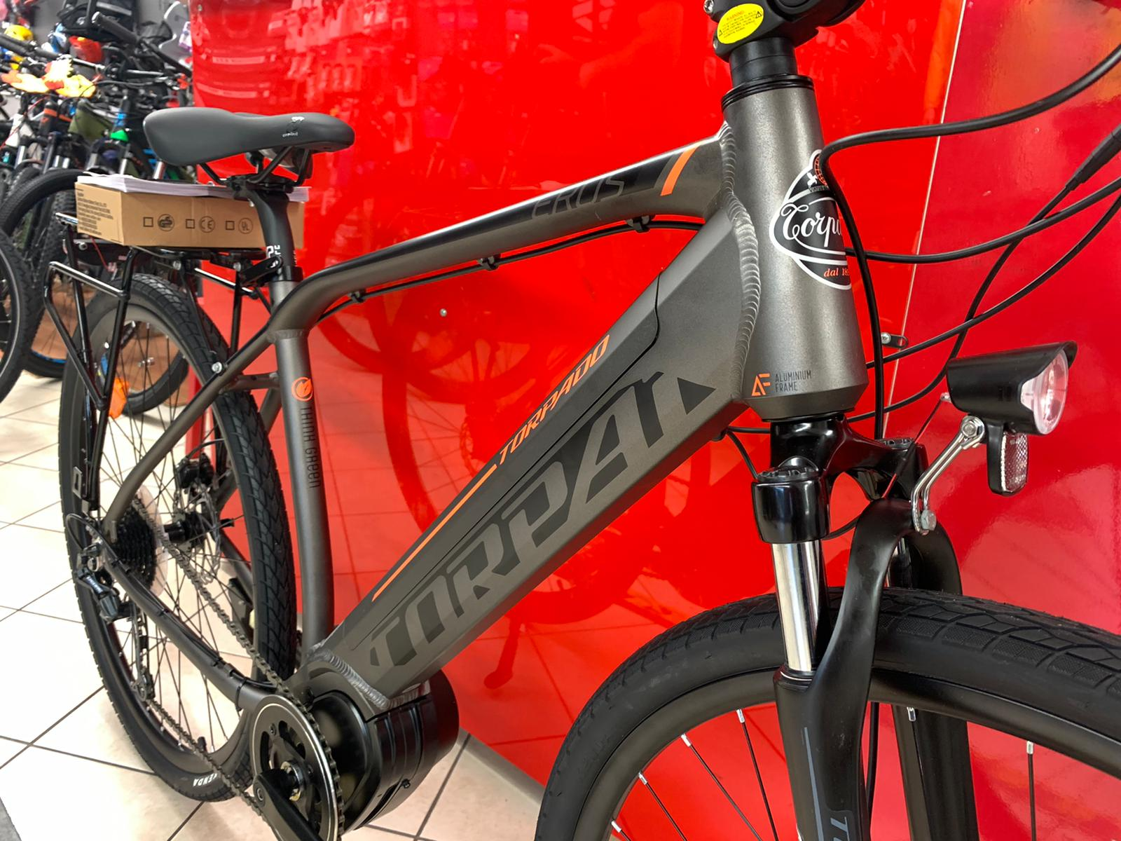 Torpado Eros Ibrida Elettrica. Bici elettriche e-bike Verona