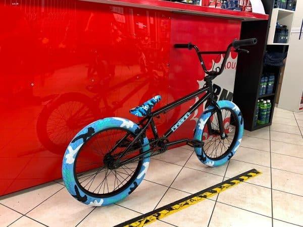 """Bmx Freestyle 20"""" camo. Bici bmx freestyle a Verona. RMC negozio di biciclette ragazzo a Verona"""