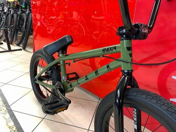"Bmx Street 16"" verde. Bmx Street Verona. Bicicletta BMX Verona. RMC negozio di bici Verona"