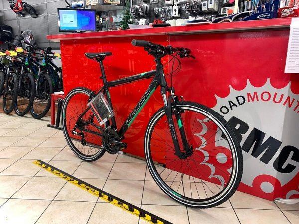 Kross Trekking uomo. City Bike Verona. Bici per città. RMC negozio di biciclette. Trekking