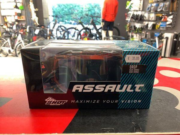 Maschere per casco integrale SHOT. Accessori per biciclette Verona. RMC negozio di bici Verona