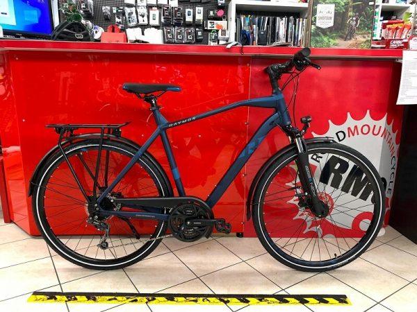 Raymon Tourray 4.0 uomo Trekking City Bike Verona. Bici per città. RMC negozio di biciclette