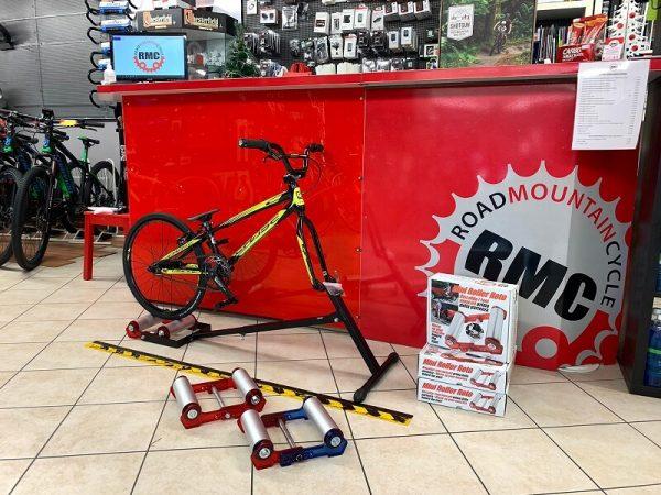 Rullo Mini riscaldamento GARA per BMX. Accessori bici Verona. RMC negozio biciclette a Verona