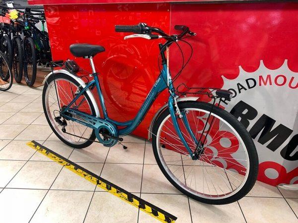 """City Bike Rollmar 26"""" azzurro. City Bike Verona. Bici per città. RMC negozio di biciclette a Verona"""