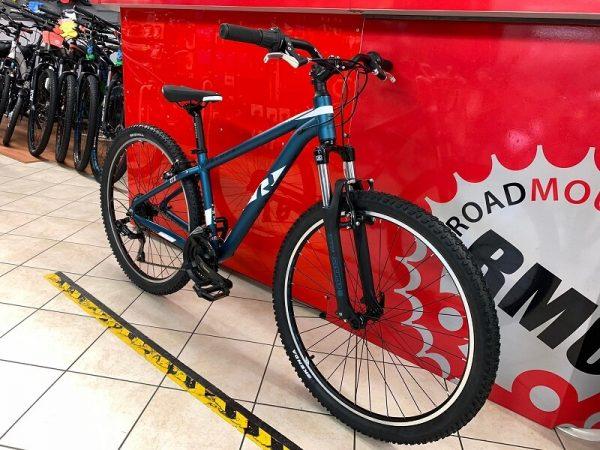 "Raymon NineRay 1.0 27,5"" blu. MTB Bici Mountain Bike Verona. RMC negozio di biciclette a Verona"