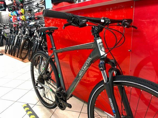 Brera Amsterdam Trekking uomo grigia. City Bike Verona. Bici per città. RMC negozio di biciclette