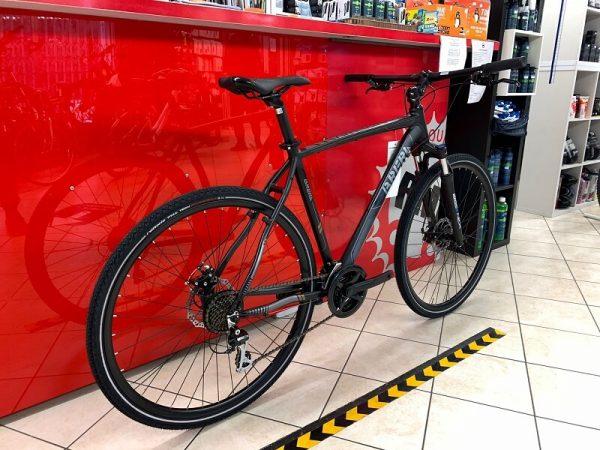 Brera Amsterdam Trekking uomo nera. City Bike Verona. Bici per città. RMC negozio di biciclette