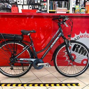 """Brera Elettrica donna 28"""" nera. Bici Elettrica Verona. E-bike bicicletta. RMC negozio bici Verona"""