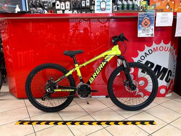 "MTB Brera 24"" Disc gialla. MTB ragazzo. Bici Mountain Bike Bici Bimbo. Bicicletta da bambino Verona"