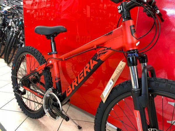 "MTB Brera 24"" Disc rossa. MTB ragazzo. Bici Mountain Bike Bici Bimbo. Bicicletta da bambino a Verona"