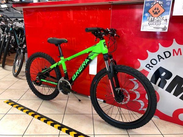 "MTB Brera 24"" Disc verde. MTB ragazzo. Bici Mountain Bike Bici Bimbo. Bicicletta da bambino a Verona"