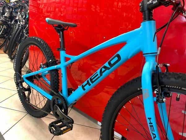 "MTB Head 24"" azzurra MTB ragazzo. Bici Mountain Bike Bici Bimbo. Bicicletta da bambino a Verona"