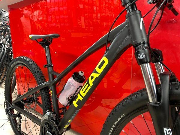 "MTB Head 24"" nera. Bicicletta MTB Mountain Bike Verona. RMC negozio di bici a Verona"