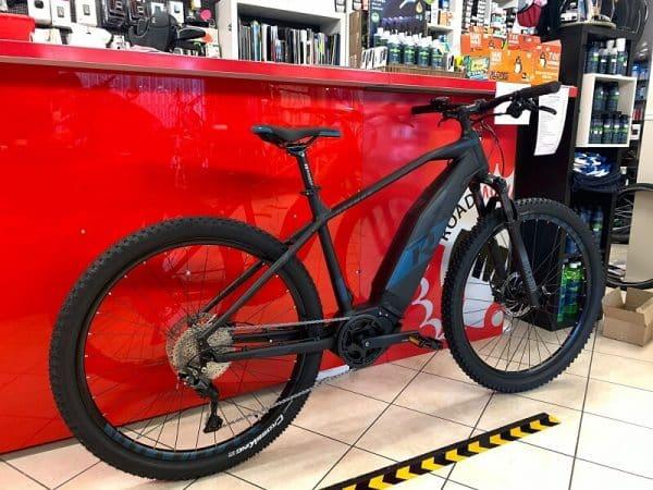 MTB Mountain Bike Elettrica Raymon Hardray 6.0. Bici Elettrica Verona e-bike bicicletta. Negozio RMC