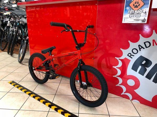 "RADIO BMX Revo 16"" rossa. Bici bmx freestyle a Verona. RMC negozio biciclette street e dirt Verona"