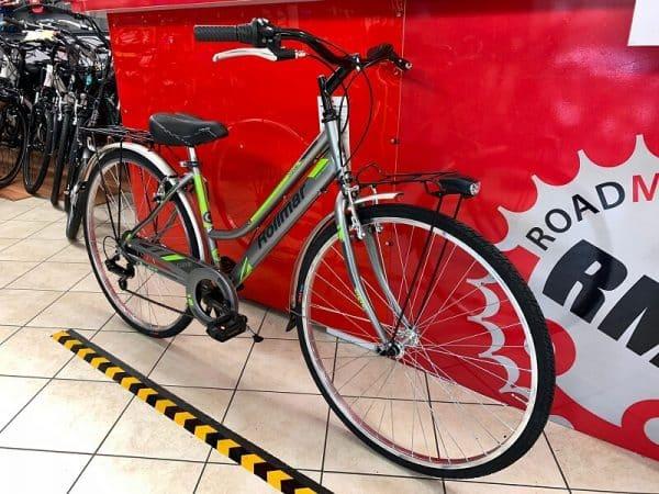 "Rollmar City 28"" grigia. City Bike donna a Verona. Bici per città. RMC negozio biciclette Verona"