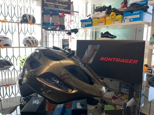 Bontrager Blaze. Casco MTB. Caschi bici Mountain Bike. RMC negozio biciclette Verona