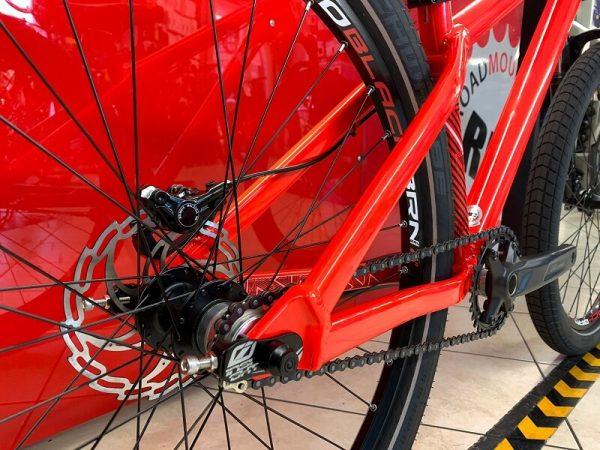 "Dirt 26"" Octane One rossa personalizzata. Bici MTB Mountain Bike e bmx a Verona. Negozio biciclette"
