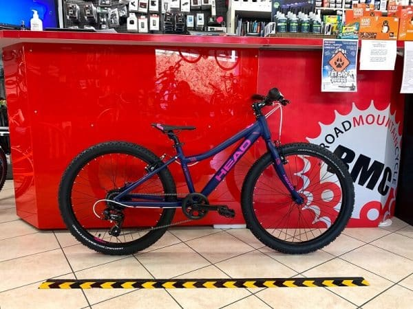 "MTB Head 24"" Joy viola. Bicicletta MTB Mountain Bike Verona. RMC negozio di bici a Verona"
