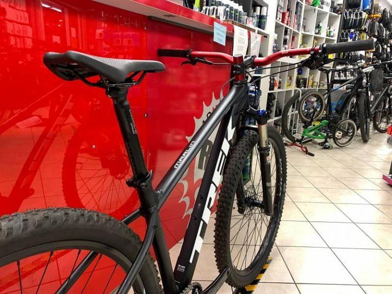 Trek Marlin personalizzata 2.0. MTB Mountain Bike Verona. RMC negozio di bici a Verona