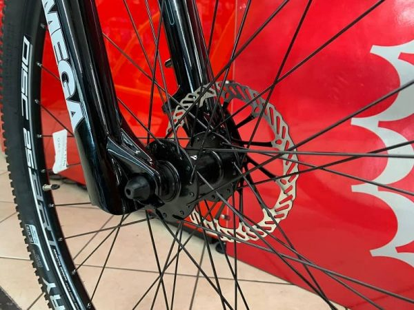 """RMC Silver-Line 29"""" gialla. Bicicletta MTB Mountain Bike Verona. RMC negozio bici"""