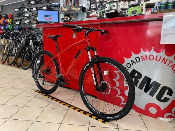 """RMC Silver-Line 29"""" rossa. Bicicletta MTB Mountain Bike Verona. RMC negozio bici"""