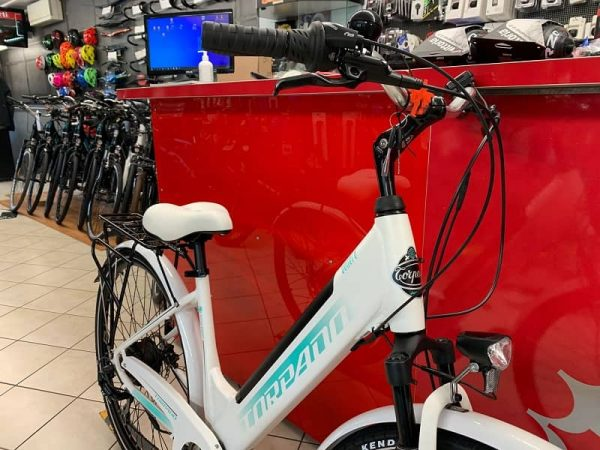 Torpado Elettrica Venere Donna. Bici elettrica Verona eBikes