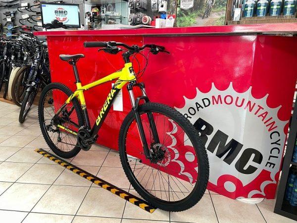 "Bici MTB Brera Koban 29"" Disc Gialla - Bicicletta Mountain Bike Verona"