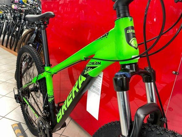 "Bici MTB Brera Koban 29"" Disc Verde - Bicicletta Mountain Bike Verona"