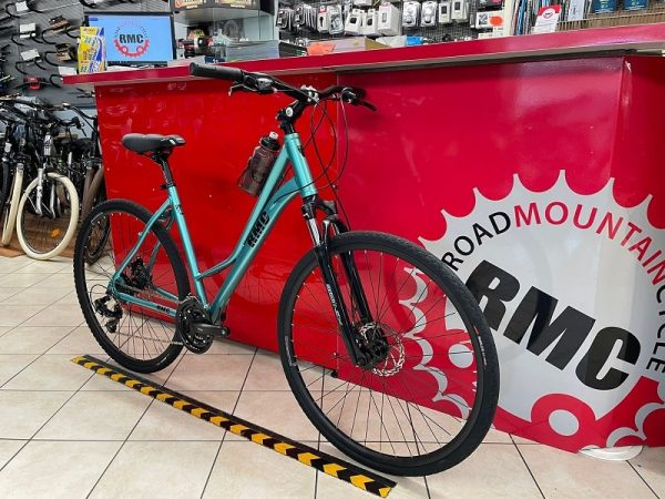 Bici RMC Trekking-Line donna. City Bike Verona. Bicicletta per città