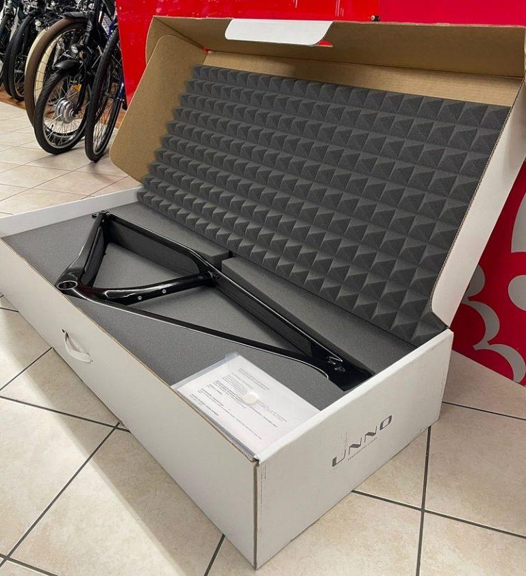 Telaio UNNO, produzione spagnola di 50 telai per bici